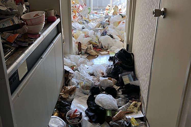 福岡県博多区ゴミ屋敷清掃